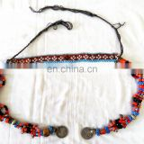 Afghani Handmade Necklace-Vintage Beaded Necklace