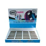Phone accessories counter display/cardboard book counter display/cigarette counter display