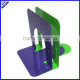"High quality colored simple design 5""metal desktop book stand"