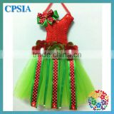 children red &lime tutu bow holders
