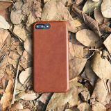 Oil wax full grain leather phone cases