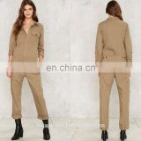Jumpsuit fashion new design custom made womens utility jumpsuit