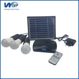 Multifunctional solar powered mini project fiber optic home solar lighting system for indoor