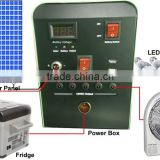 12V Portable power box for solar refrigeration system