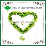 Wholesale wicker wreaths christmas decoration heart shaped wreaths