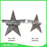 Wholesale star shaped christmas decorations