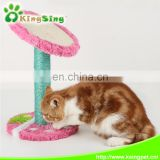 strawberry scratching post/ cat tree