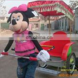 new style robot rickshaw manual rickshaw for park rickshaws for sale