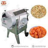 industrial root vegetable cutting machine fruit dicing slicing striping machine