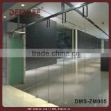 china suppliers balcony exterior used commercial glass folding door/sliding doors system DMS-ZM005