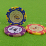 ABS Casino Poker Chip , Invisible Sticker Chips