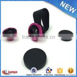 Popular Universal clip cell phone camera 0.45x wide angle lenses with macro