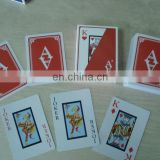 Good quality Blue core paper playing cards