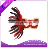New Style deluxe Carnival Party feather Masks