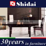 sideboard with glass doors / combination sideboard / black lacquer sideboard N6302