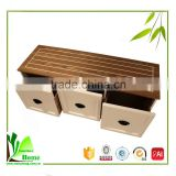 Hot Sale Living Room Furniture Bamboo Bedroom LCD TV Stand