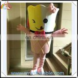 Promotion delicious ice cream costume, plush cartoon fancy dress, advertising ice cream costume for adult