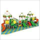 HLB-TQQC111 Children Slide Area Kindergarten Outdoor Playground