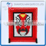 Mini Qute Kawaii DIY plastic Ironing Hama Perler Bean 3D Jigsaw Beijing opera model building blocks educational toy (Accept OEM)