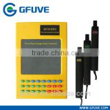 GFUVE GF312D1 portable three phase kwh meter field calibrator with three pieces of permalloy current clamps