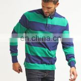 custom the color combination polo shirt for men