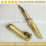 luxury pen 24ct gold limited edition , get your pen gold plated , 24kt gold plated pen