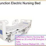 Hospital used 3 Function Electric Nursing Bed
