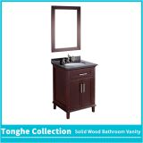 Tonghe Collection 30'' Antique Bathroom Vanity Set Black Granite Countertop
