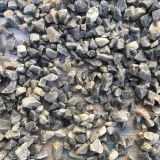 Gray Colored Gravel Natural For Water Purification System , 80-120mm