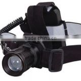 rechargeable headlamp with 3W Led