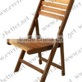Wood Folding Chairs Nature color
