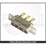 High Current D-SUB Connector 3W3 Solder