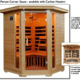 wooden steam shower cabin sauna room