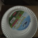 High Quality Disposable Paper Plate In Round Shape