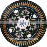 Black <b>Stone</b> Inlay <b>Table</b> <b>Tops</b>