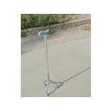 Adjustable walking canes three-feet walking stick