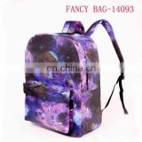 Newest shiny print School Backpack for children wholesale