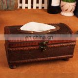 leather napkin box wholesale