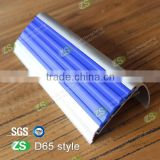 Decorative laminate stair nose Aluminum step edging strip floor strip acrylic stair step tile anti-slip stair nosing profile