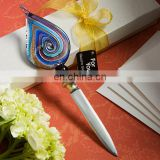 Murano Glass Multicolored Letter Opener