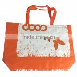 Top quality Waterproof PP woven Laminated Beach Tote Bag