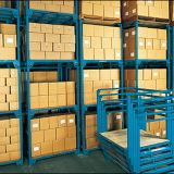 Professional Steady Pallet Stacking Frames With Removable Posts
