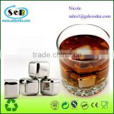 2014 Unique bar accessories Stainless steel ice cube for wine