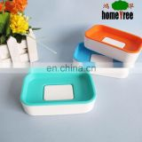 Custom Design Cheap Plastic Square Household Travel Soap Box