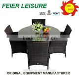 hot sell rattan sofa outdoor semi circle furniture