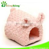 fleece piggy dog house