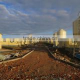 FRP/Fiberglass Silos for Pig/Farm animal/Livestock/Poultry Feed, Storage Silo/Grain Silo for Poultry/Pig Farming Constuctions
