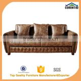 Italy classical chesterfield sofa design with high quality leather button