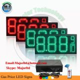 Outdoor Waterproof Remote Control LED Gas Price Digit Sign