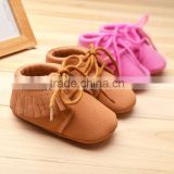 Tassel soft bottom shoes baby baby shoes shoes 0-1 age 8869
